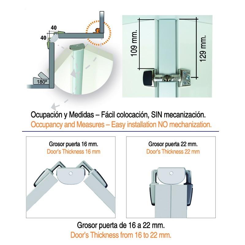 Bisagra rincomatic rincoplus40 para muebles rinc n de for Manual de muebles de cocina