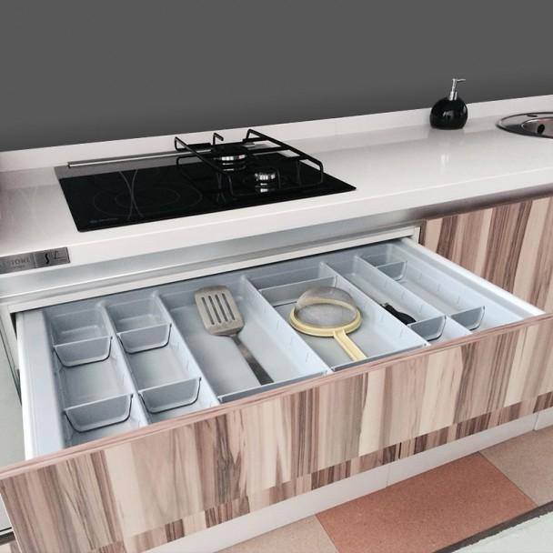 Cubertero modular para caj n cocina blum for Muebles de cocina de 70 cm de ancho
