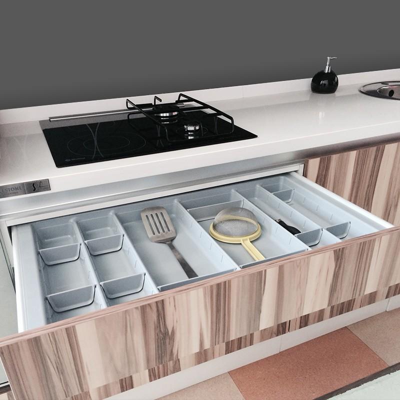 Cubertero modular para caj n cocina blum for Ubicacion de cocina
