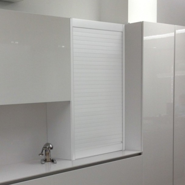Kit persiana aluminio blanco para muebles de cocina - Armarios de cocina en kit ...