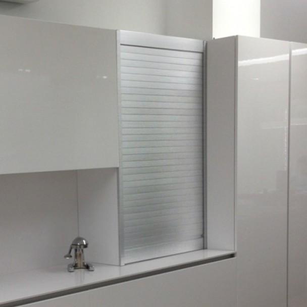 Kit persiana aluminio inox para muebles de cocina for Kit de persianas