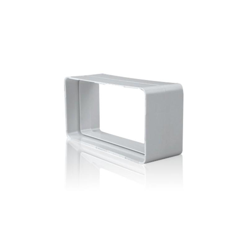 Empalme rectangular para tubo de salida de humos de cocina - Tubos para salida humos cocina ...