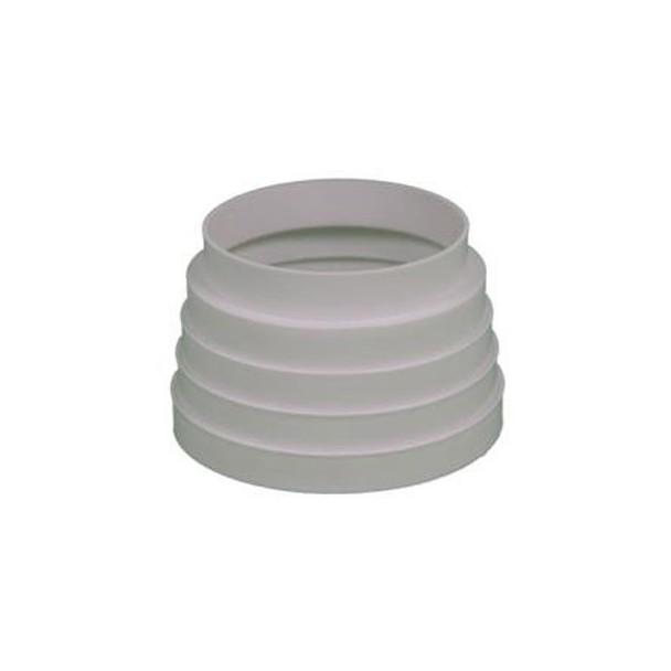 Aro de empalme reductor redondo para tubo de salida de humos - Tubos para salida humos cocina ...