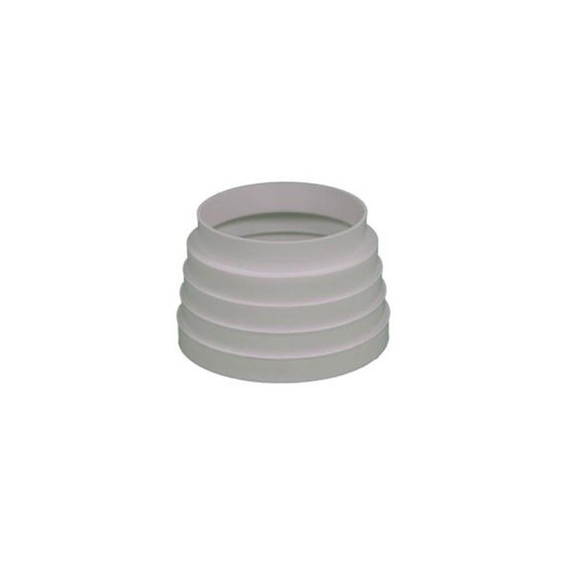 Aro de empalme reductor redondo para tubo de salida de humos - Salida de humos cocina normativa ...