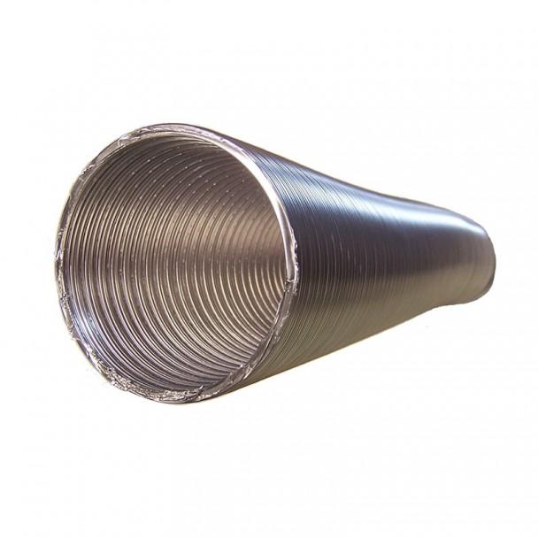 Tubo flexible aluminio para salida de humos de cocina - Extractor humos cocina ...