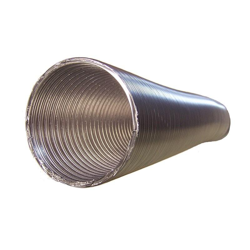 Tubo flexible aluminio para salida de humos de cocina - Tubos para salida humos cocina ...