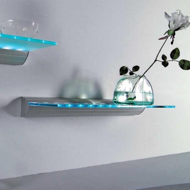 Estante m nsula cristal led 230v 5500k focled - Mensulas para estantes ...