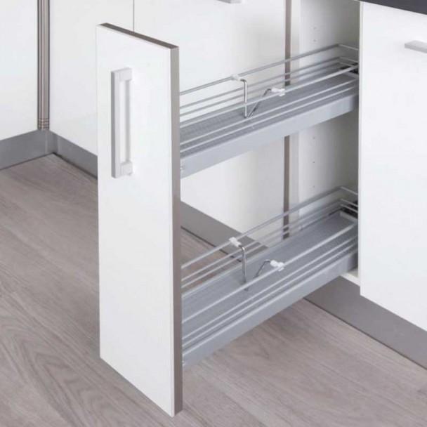 Botellero especiero extraible para mueble de cocina - Grifos de cocina de pared ...
