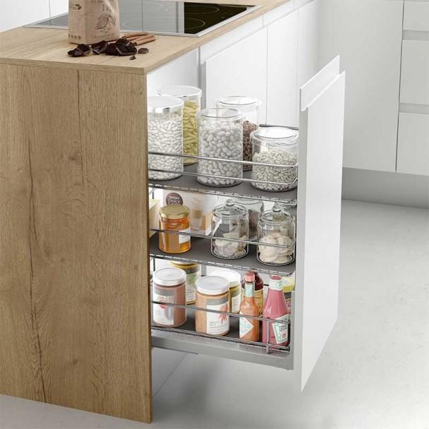 M dulo verdulero despensero extraible para cocina l nea - Muebles de cocina modulos ...