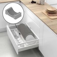 Accesorios y equipamiento para caceroleros de cocina for Soporte platos cocina