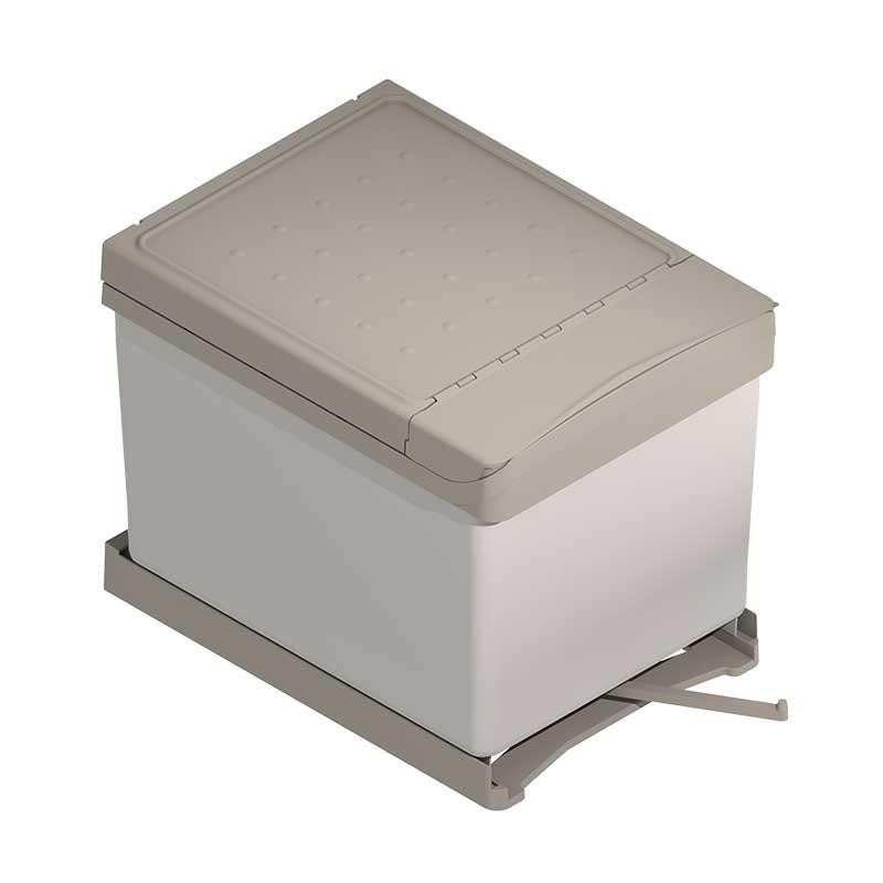 Cubos reciclaje basura 16 16 l para mueble de cocina for Cubo basura cocina