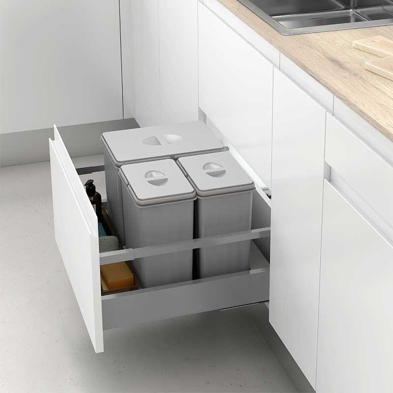 Cubos reciclaje basura mod i para caj n de cocina - Cubos reciclaje cocina ...