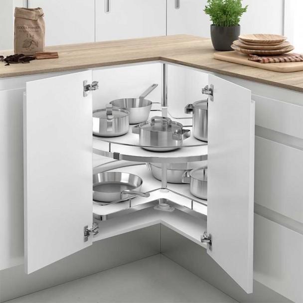 Bandeja giratoria 270 tipo a mueble rinc n cocina l nea compact - Bisagra mueble cocina ...