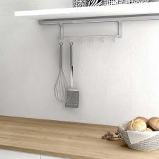 Barras accesorios y menaje de cocina para colgar en pared for Colgador utensilios cocina
