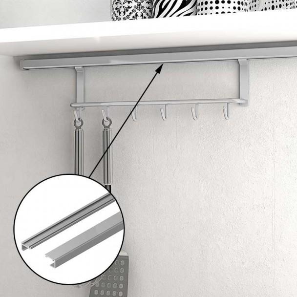 Barra soporte 1200 mm para colgar accesorios de cocina en for Accesorios cocina online