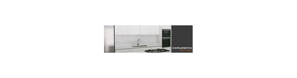 Herrajes complementarios para montaje de cocinas for Muebles complementarios