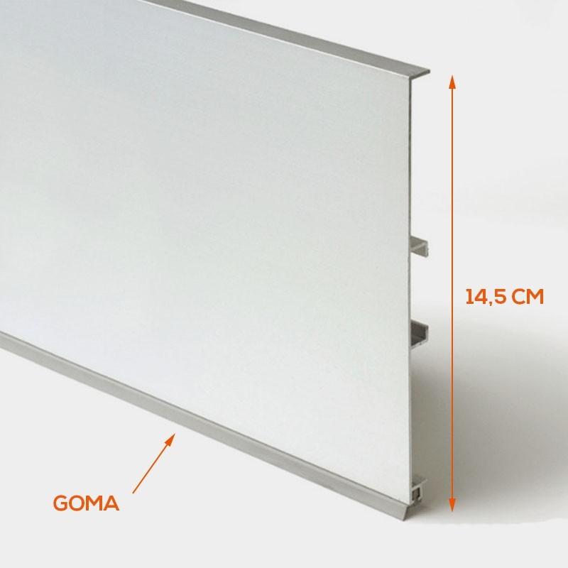 Zócalo de Aluminio para Rodapié Cocina - HerrajesCocinaOnline.com