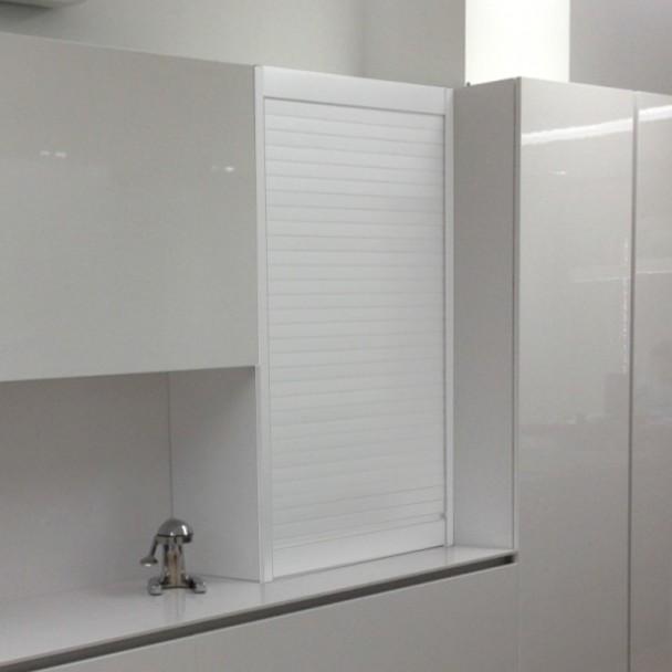 Kit Persiana Aluminio Blanco para Muebles de Cocina