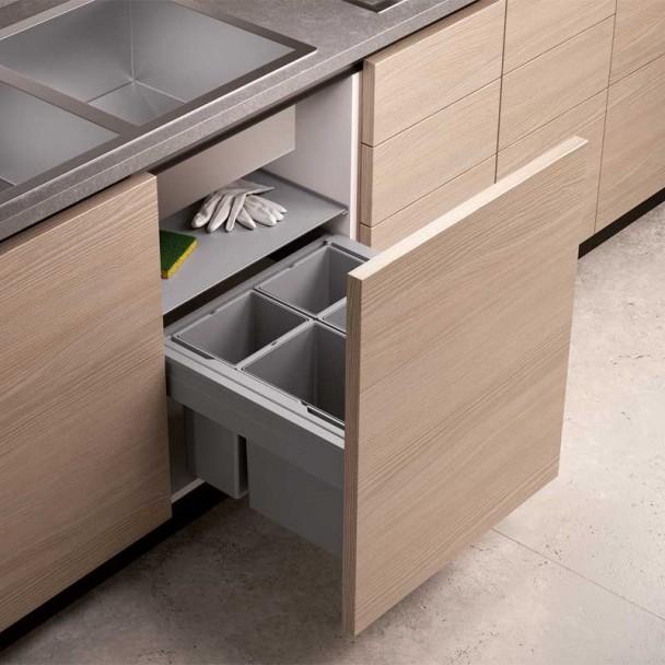 Cubo reciclaje basura concept 560 altura 298 para cocina - Cubos reciclaje cocina ...