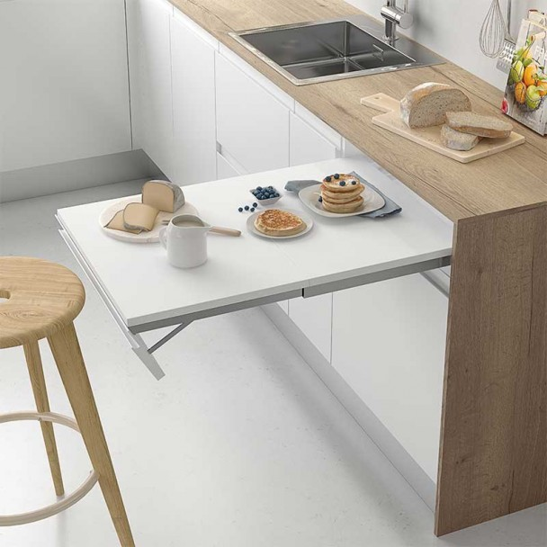 Herraje Extraible Mesa Cocina B Línea Compact
