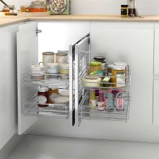 Herrajes extraibles para muebles rincón de cocina ...