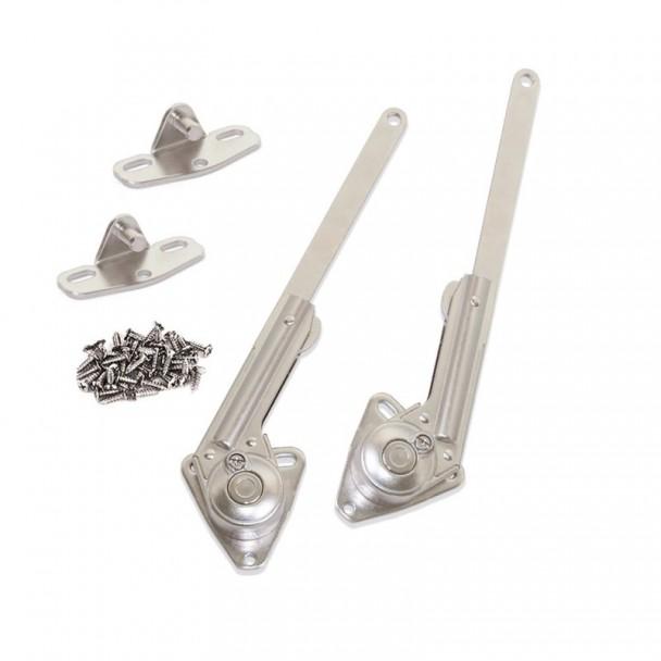 Compases para Puertas de Arcón Fuerza 20 - 70 kg x cm Emuca NSDX