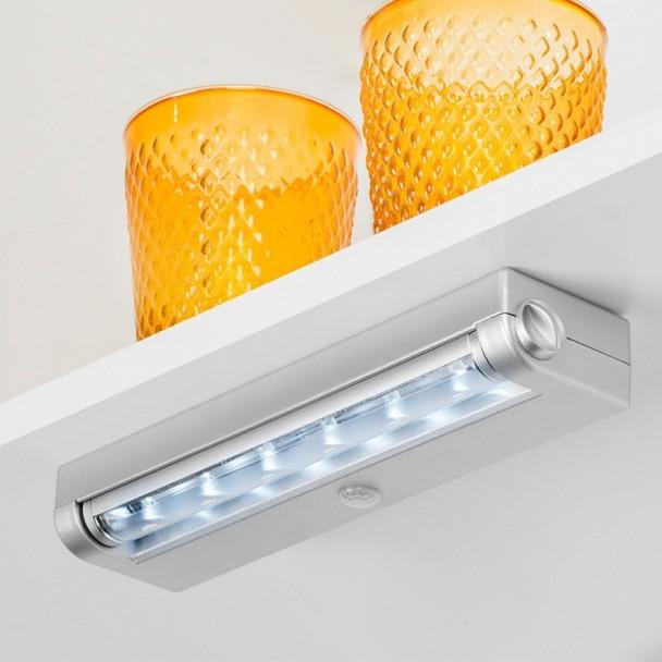 Luz LED a Pilas con Sensor de Movimiento Phoenix Luz Fría