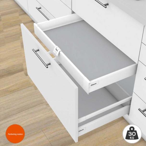 Cajón Interior Blanco 30 kg Tandembox Antaro M para cocina