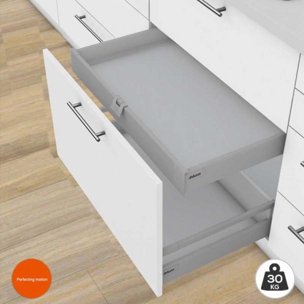 Cajón Interior Gris 30 kg Tandembox Antaro M para cocina