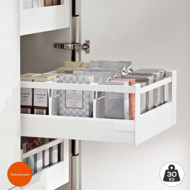 Cacerolero Interior Blanco 30 kg Tandembox Antaro D para cocina