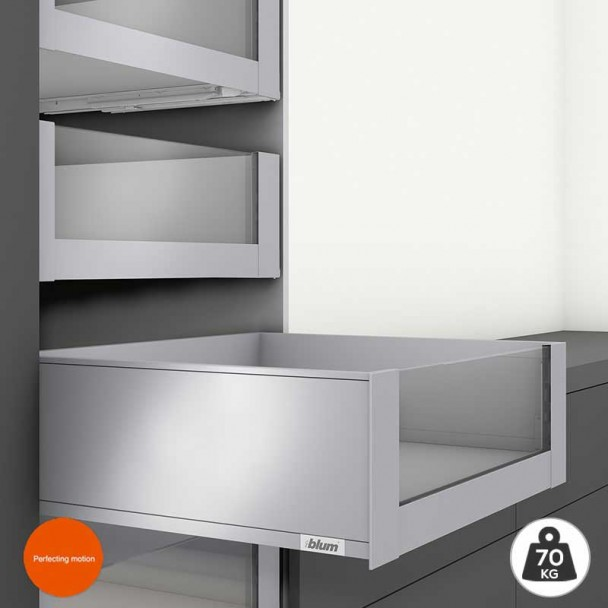 Cacerolero Interior Gris 70 kg Frente Cristal Legrabox Pure C