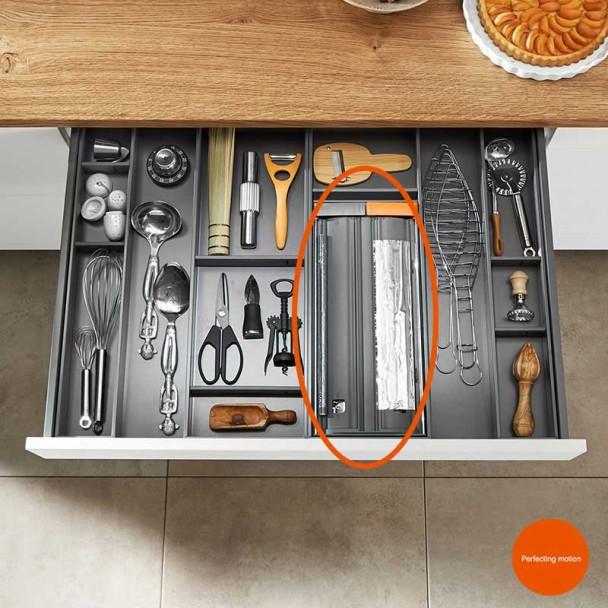 Cortador Papel Film y Aluminio AMBIA-LINE para Cajón de Cocina LEGRABOX