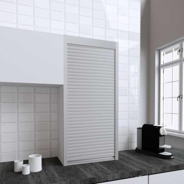 Kit Persiana 60 x 130 cm PVC Inox para Muebles de Cocina