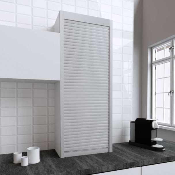 Kit Persiana 60 x 150 cm PVC Inox para Muebles de Cocina