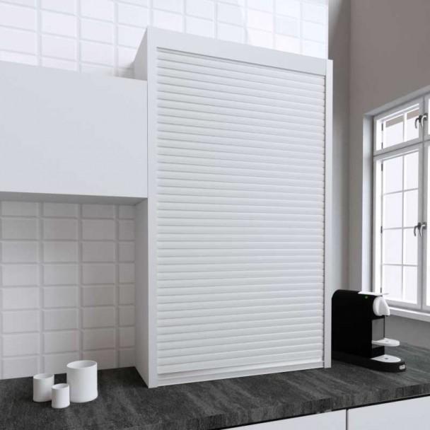Kit Persiana 90 x 150 cm PVC Blanco para Muebles de Cocina