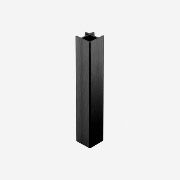 Ángulo 90º Negro para Zócalo de PVC Rodapié Cocina